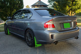 Subaru Legacy GT, All Legacy models 2005-2009 (BL,BP) Rally Mud Flaps