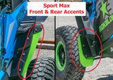 Polaris RZR XPT, XP1000 2014+ Replacement Flaps