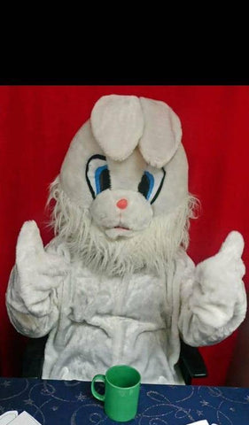Mascot White Rabbit