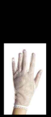 Gloves Net White