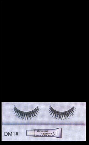 Eyelashes DM1 Black Silver