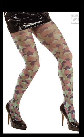 Camouflage Tights