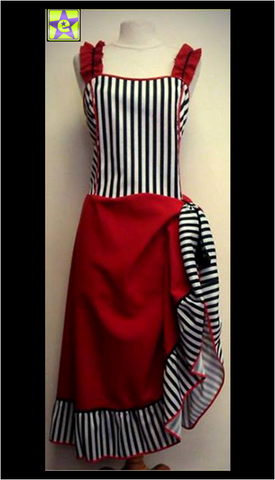 Saloon Girl Stripe
