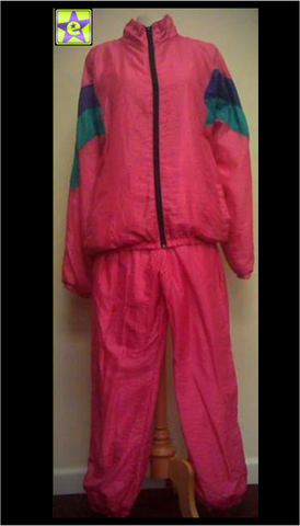Shell Suit Pink