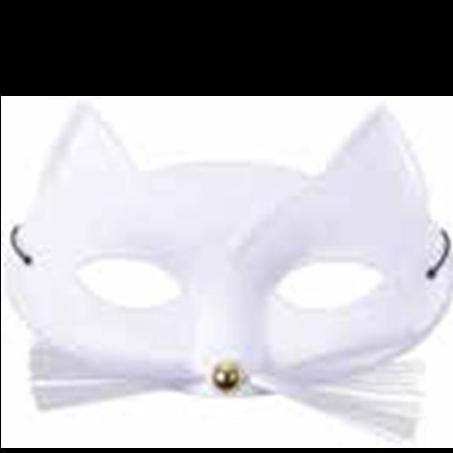 Cat Mask White