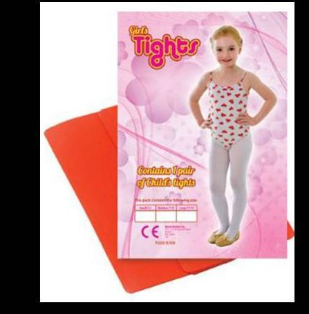 Child Tights Red