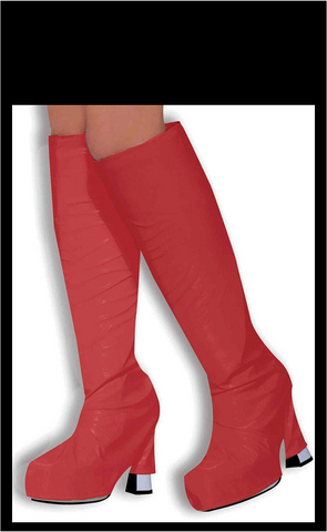 Boot Covers Red