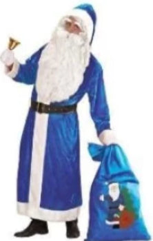 Santa Coat, Blue - Ex Hire