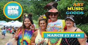 March 17-18 HIPPIE FEST 2018 Lake City, SC