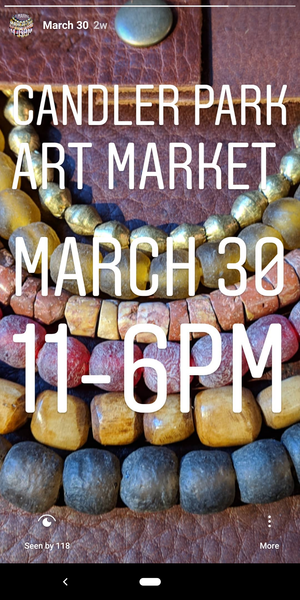APRIL 30 CANDLER PARK ART MARKET
