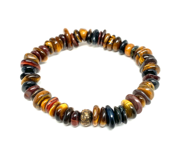 Tiger's Eye & Tibetan Mantra