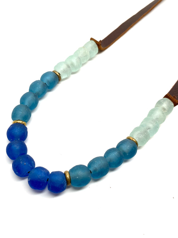 Krobo 1 Strand • Colorblock Blues