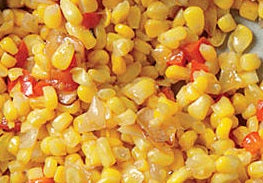 Whole Kernel Corn with Red Bell Peppers
