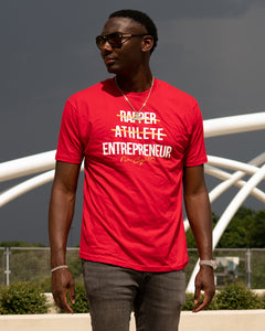 New Age Ceo T Shirt - Red