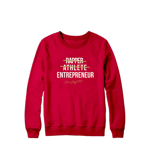 New Age CEO Sweater - Red * LIMITED EDITION *