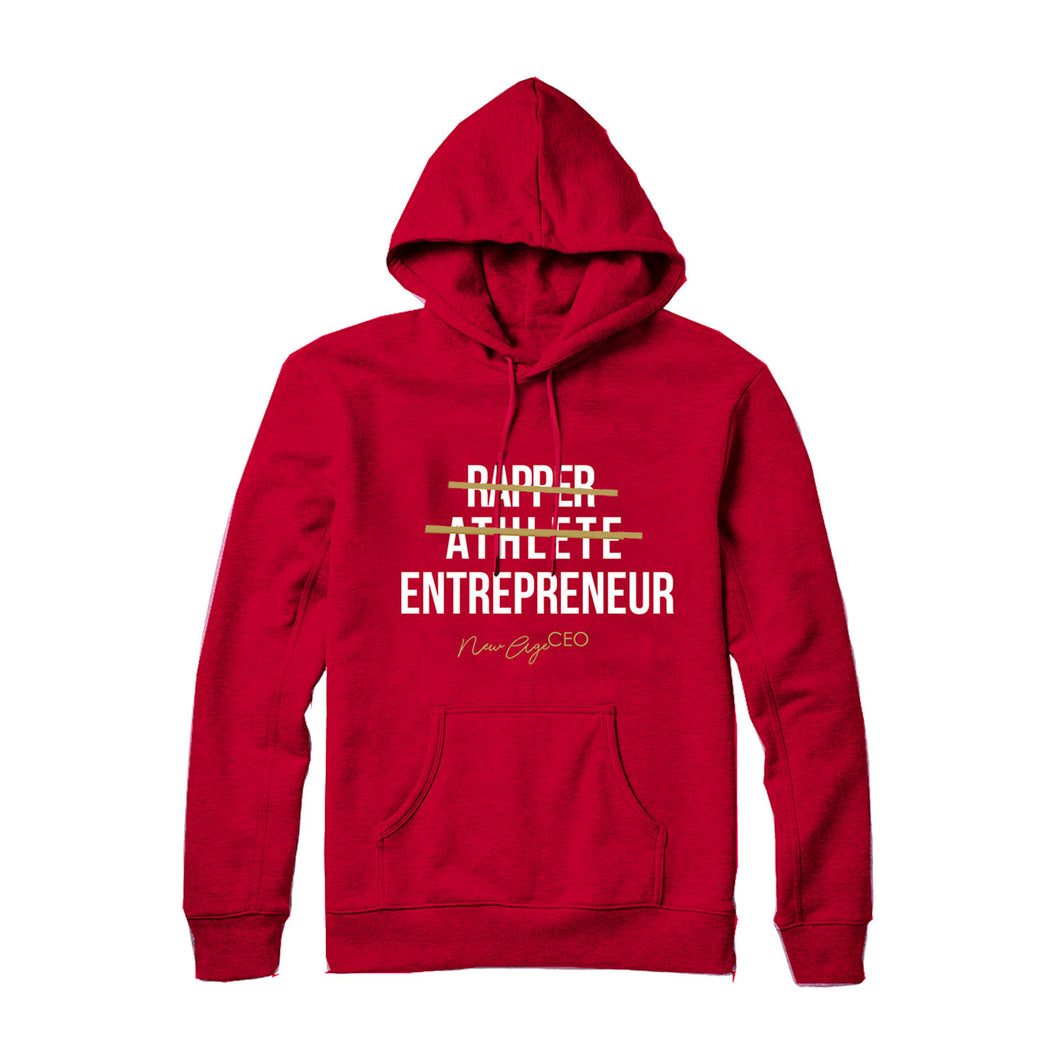 New Age Ceo Hoodie- Red * LIMITED EDITION *
