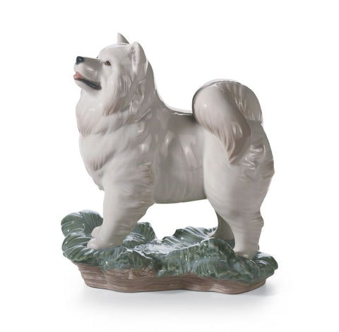 Lladro Porcelain The Dog Figurine - Handmade in Spain