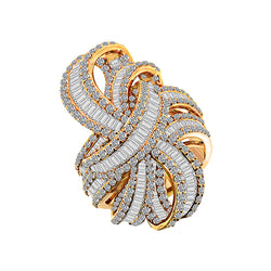 18K Rose Gold Diamond Ring, Rings, Nazar's & Co. - Nazar's & Co.