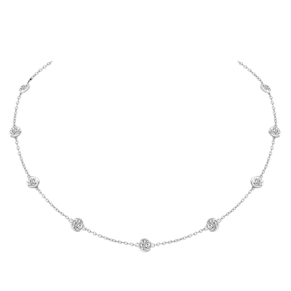 Diamond by the Yard Necklace - Nazar's & Co.