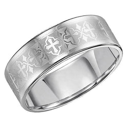 Triton Tungsten Wedding Band, Rings, Nazar's & Co. - Nazar's & Co.