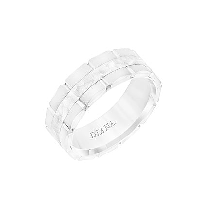 Diana Men's Wedding Band, Rings, Nazar's & Co. - Nazar's & Co.
