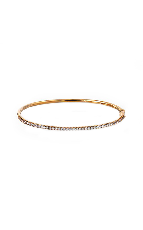 Modern Enchantment Collection 18K Yellow Gold Diamond Bangle, Bangle, Nazar's & Co. - Nazar's & Co.