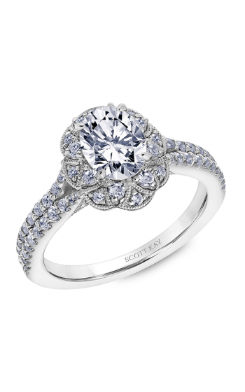 Scott Kay Heaven's Gates Engagement Ring, Rings, Nazar's & Co. - Nazar's & Co.