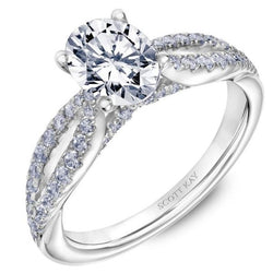 Scott Kay Luminaire Engagement Ring, Rings, Nazar's & Co. - Nazar's & Co.