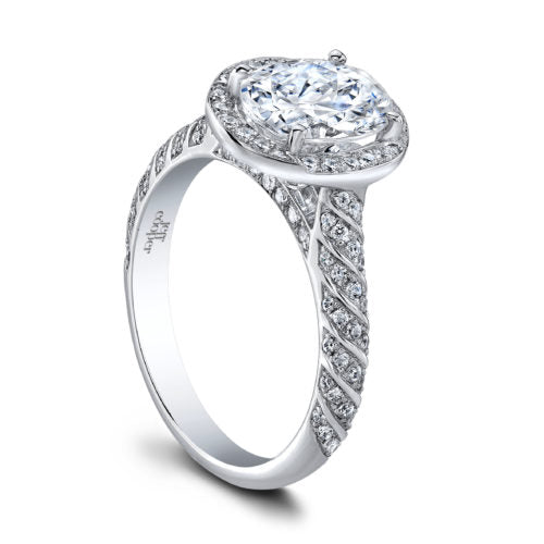 Jeff Cooper Engagement Ring Setting, Rings, Nazar's & Co. - Nazar's & Co.