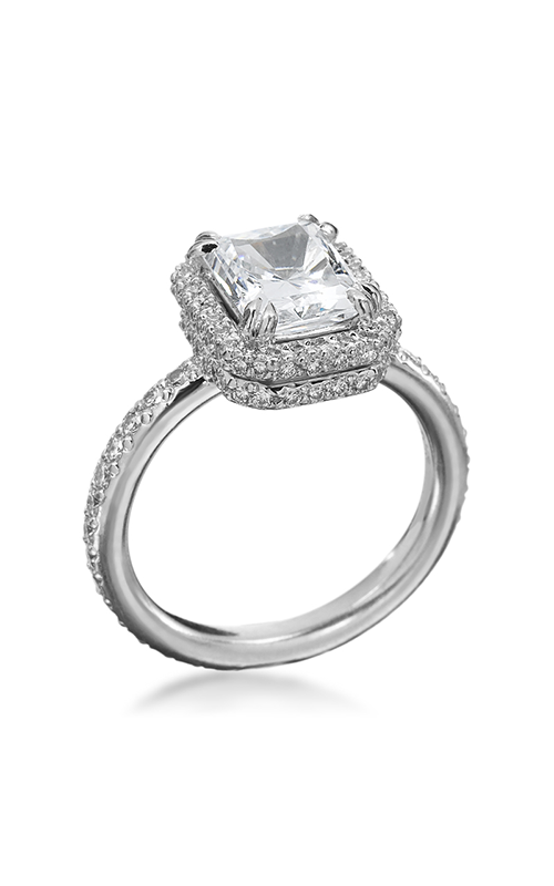 Michael B Trois Engagement Ring Setting, Rings, Nazar's & Co. - Nazar's & Co.
