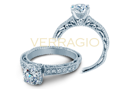 Verragio Venetian Engagement Ring Setting, Rings, Nazar's & Co. - Nazar's & Co.
