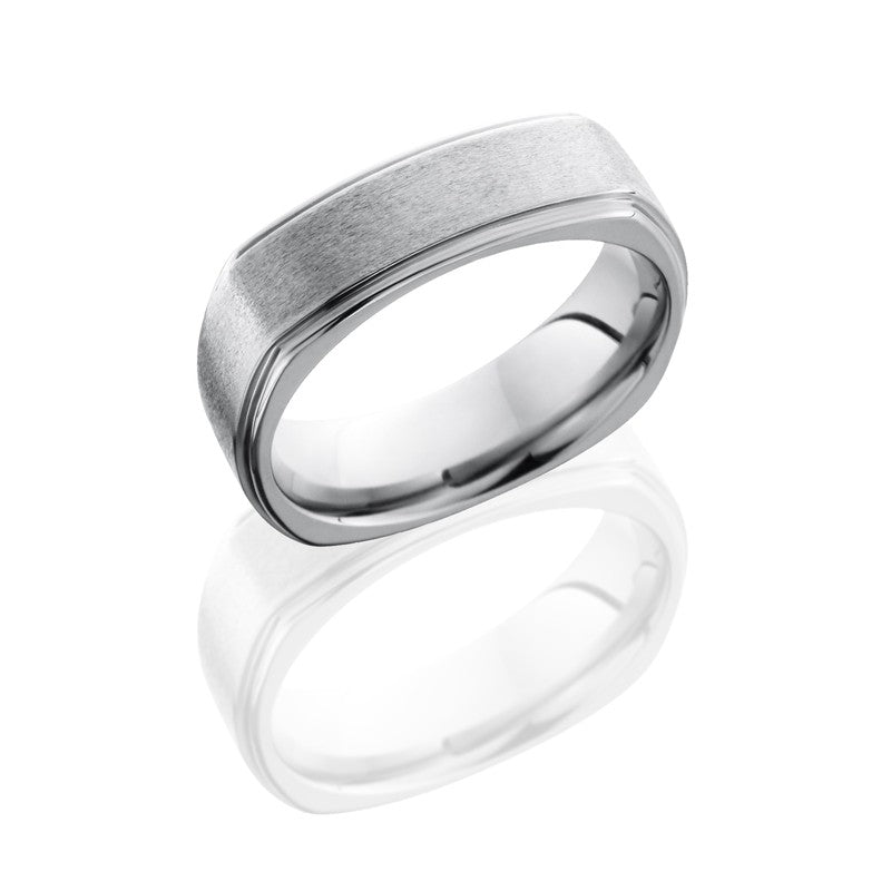 Lashbrook Titanium Diamond Men's Wedding Band, Rings, Nazar's & Co. - Nazar's & Co.