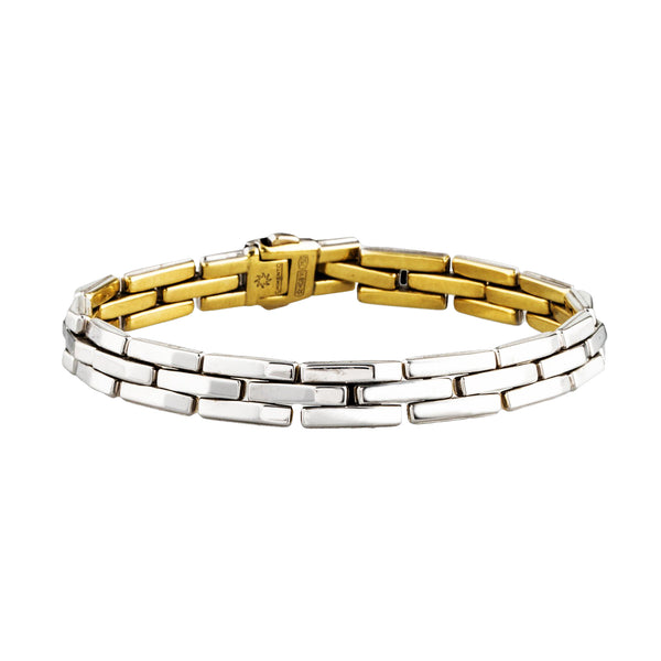 Chimento Reversible White and Yellow Gold Bracelet