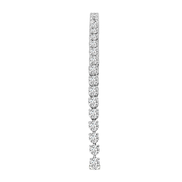 14K White Gold Diamond Tennis Bracelet, Bracelets, Nazar's & Co. - Nazar's & Co.