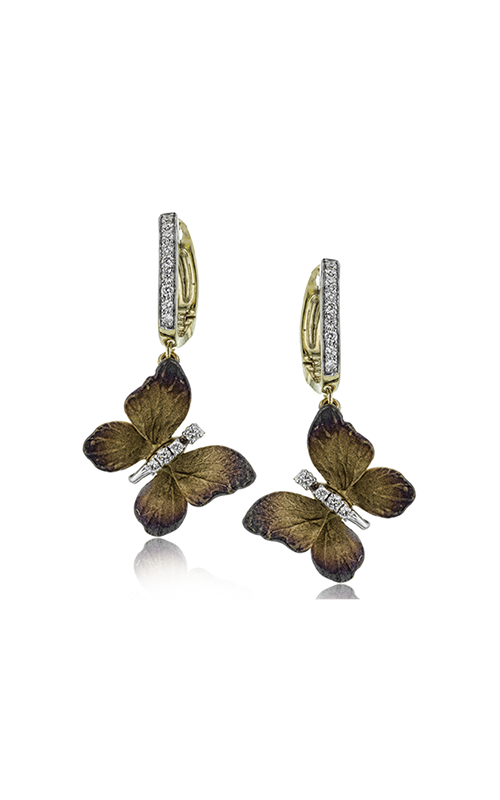 Simon G. Organic Allure Diamond Earrings, Earrings, Nazar's & Co. - Nazar's & Co.
