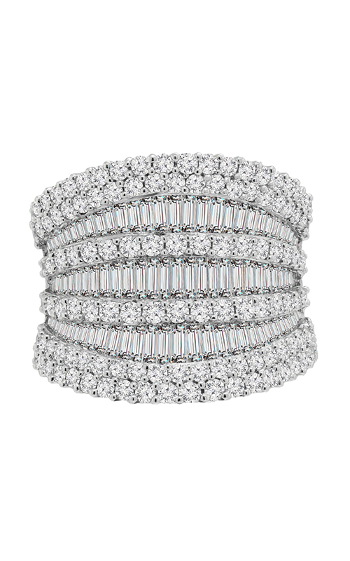 18K White Gold and Diamond Band, Rings, Nazar's & Co. - Nazar's & Co.