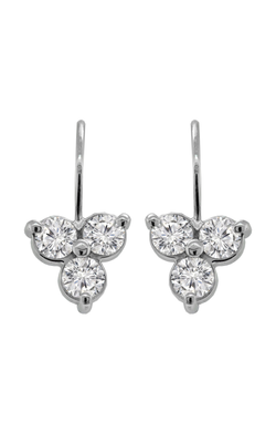 Trio Diamond Earrings - Nazar's & Co.