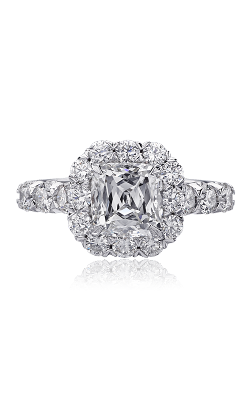 Christopher Designs Crisscut Cushion Engagement Ring, Rings, Nazar's & Co. - Nazar's & Co.