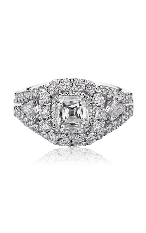 Christopher Designs Crisscut Asscher Engagement Ring, Rings, Nazar's & Co. - Nazar's & Co.