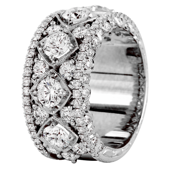 Jack Kelege Diamond Eternity Band - Nazar's & Co.