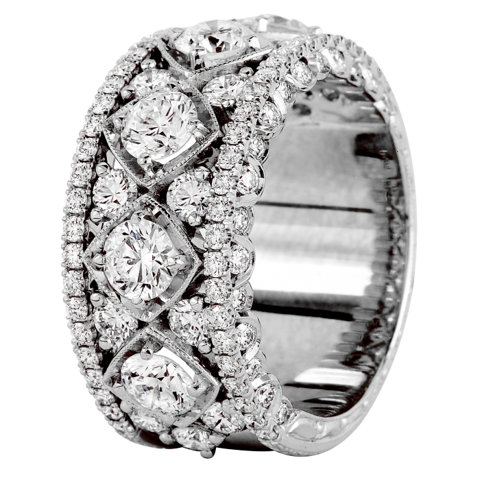 Jack Kelege Diamond Eternity Band, Rings, Nazar's & Co. - Nazar's & Co.