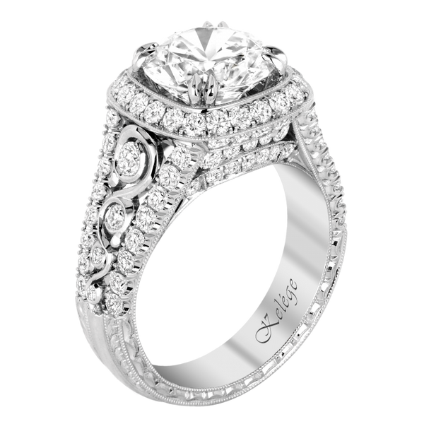 Jack Kelege Engagement Ring Setting - Nazar's & Co.