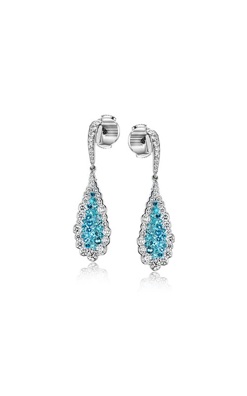 Simon G. Modern Enchantment Tourmaline and Diamond Earrings - Nazar's & Co.