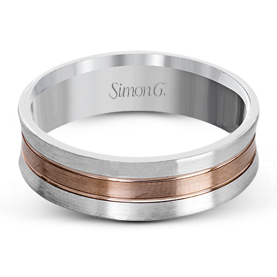 Simon G. 14K Gold Men's Wedding Band, Rings, Nazar's & Co. - Nazar's & Co.