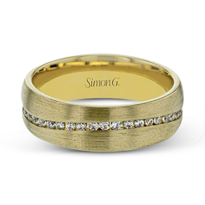 Simon G. 18K Yellow Gold Diamond Anniversary Band, Rings, Nazar's & Co. - Nazar's & Co.