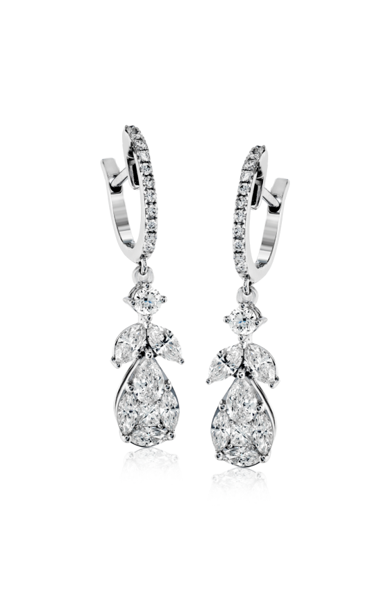Simon G. Passion Diamond Earrings, Earrings, Nazar's & Co. - Nazar's & Co.