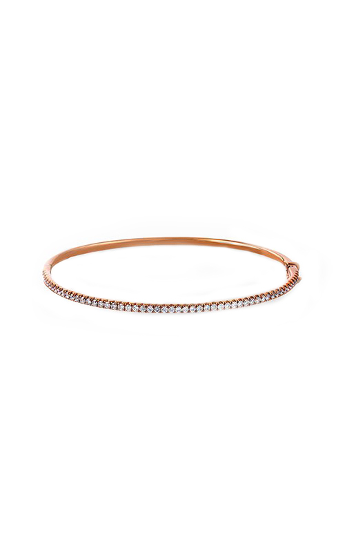 Modern Enchantment Collection 18K Rose Gold Diamond Bangle, Bangle, Nazar's & Co. - Nazar's & Co.