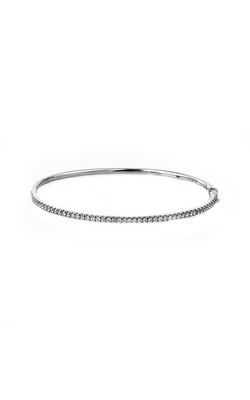 Modern Enchantment Collection 18K White Gold Diamond Bangle, Bangle, Nazar's & Co. - Nazar's & Co.