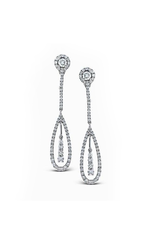 Simon G. Vintage Explorer Diamond Earrings, Earrings, Nazar's & Co. - Nazar's & Co.