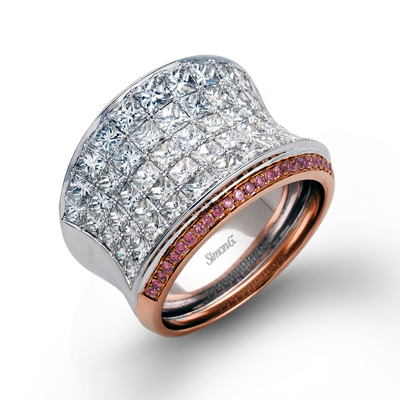 Simon G. Nocturnal Sophistication Diamond Ring, Rings, Nazar's & Co. - Nazar's & Co.